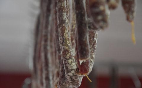 Saucisson sec Boucherie charcuterie traiteur Jeannot Esteve à Argeles sur mer , Argelès-sur-mer