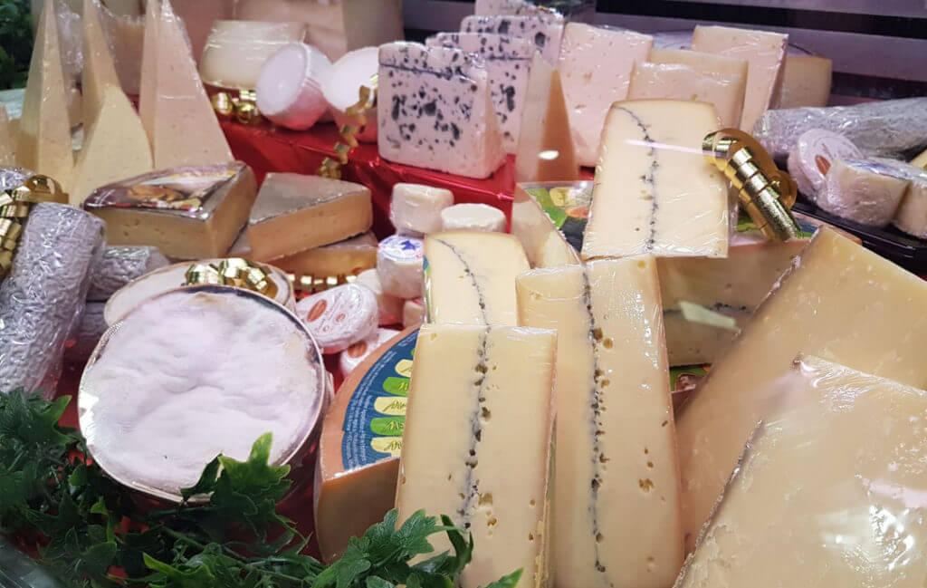 rayon fromages Boucherie Charcuterie Jeannot Esteve à Argelès-sur-mer 66700