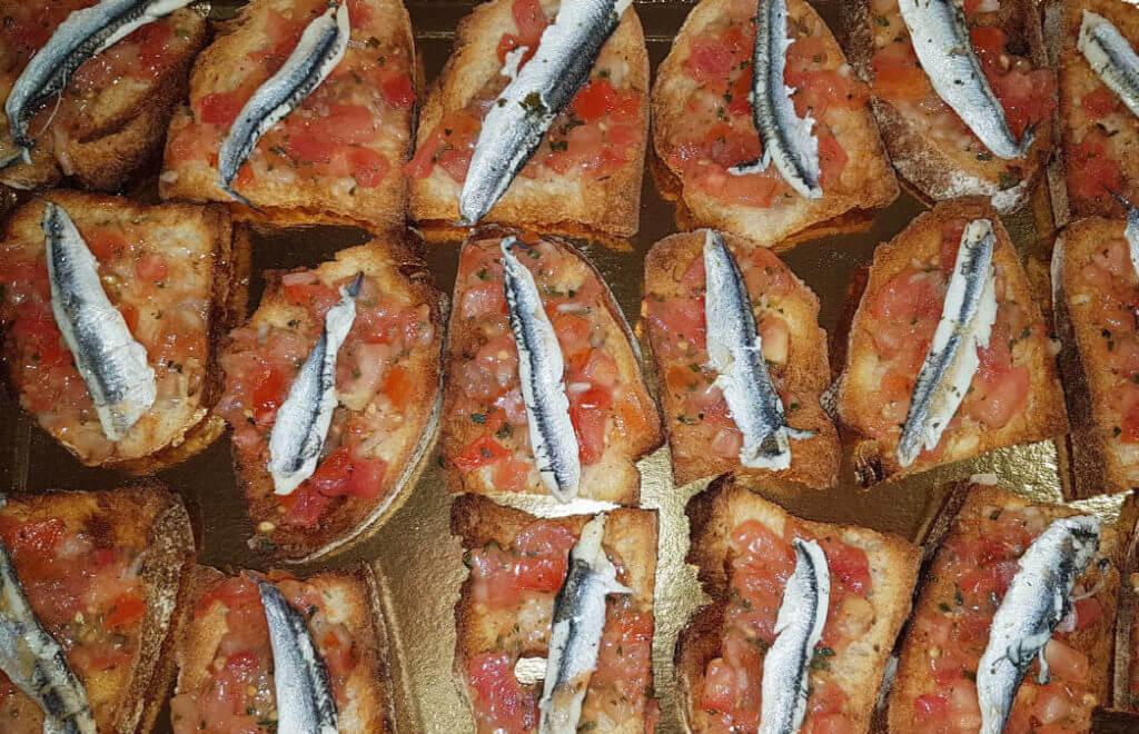apéritif à l'anchois Boucherie Charcuterie Jeannot Esteve à Argelès-sur-mer 66700